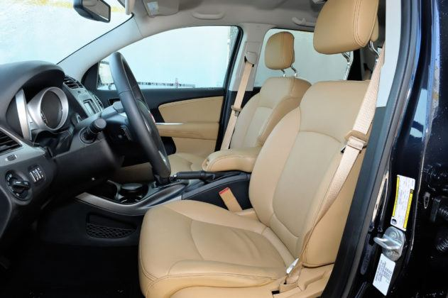 Fiat Freemont - fotel kierowcy