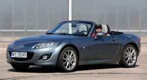 Kabriolety i roadstery, najlepszy - Mazda MX-5