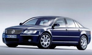 Klasa luksusowa, najlepszy - Volkswagen Phaeton