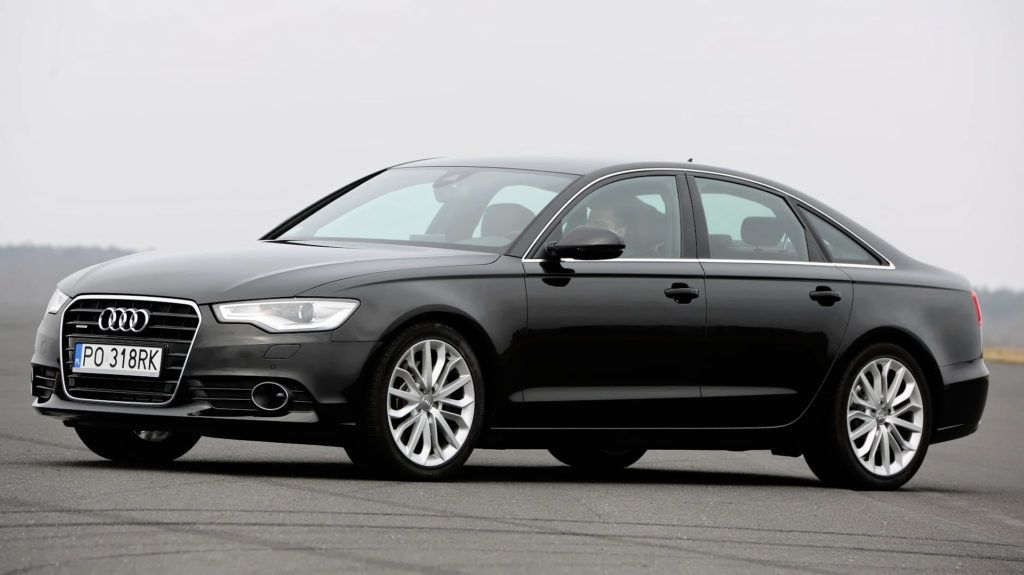 Klasa wyższa - miejsce 1 - Audi A6