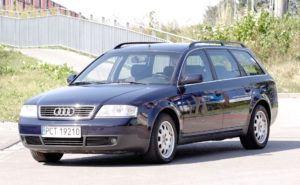 Klasa wyższa, najtańszy - Audi A6 C5