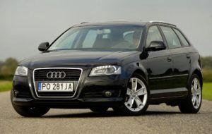 Kompakty, najdroższy - Audi A3 II