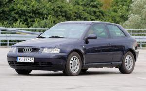Kompakty, najtańszy - Audi A3 I