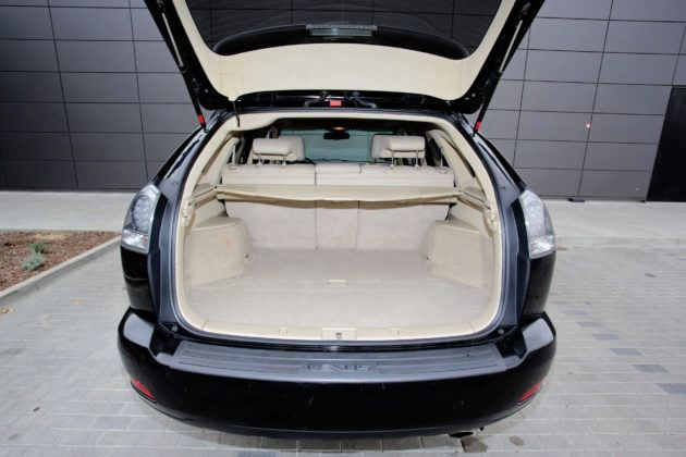 Lexus RX - bagażnik