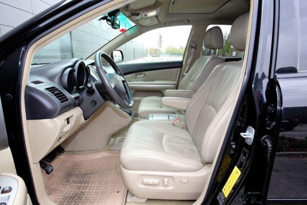 Lexus RX - fotel kierowcy