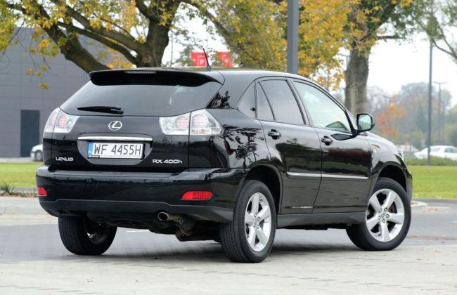Lexus RX - sylwetka