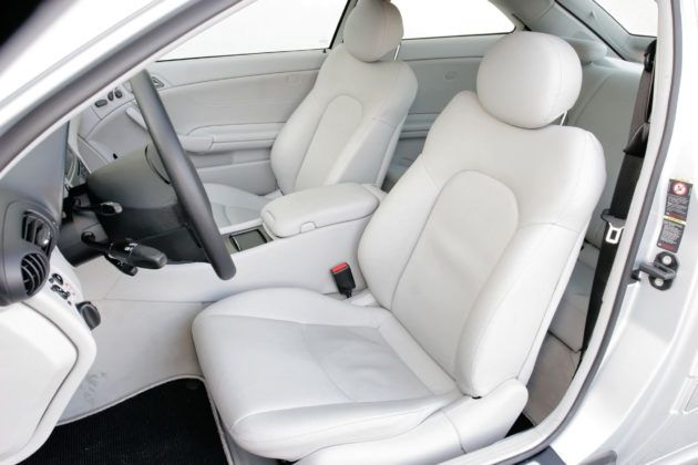 Mercedes C Sportcoupe - fotel kierowcy