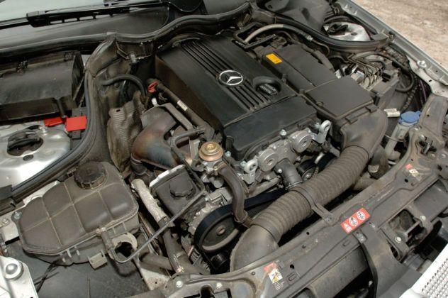 Mercedes C Sportcoupe - silnik