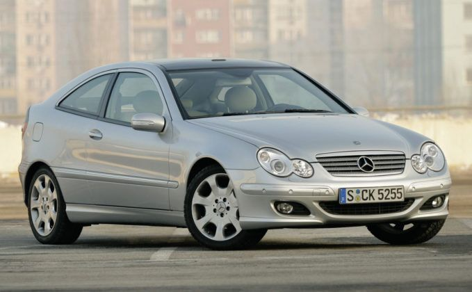 Mercedes C Sportcoupe - sylwetka