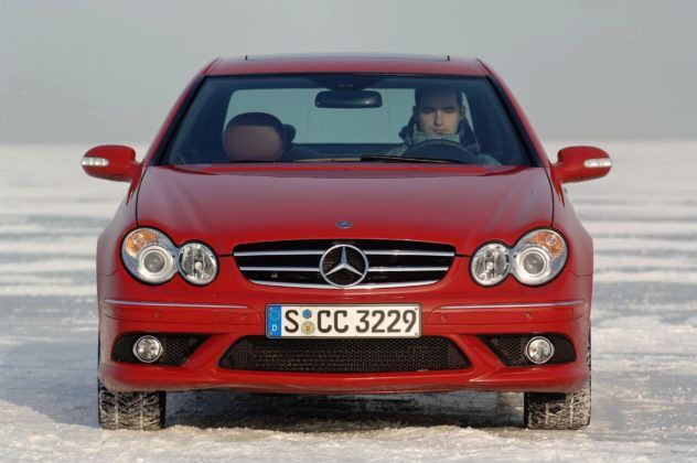Mercedes CLK - przód