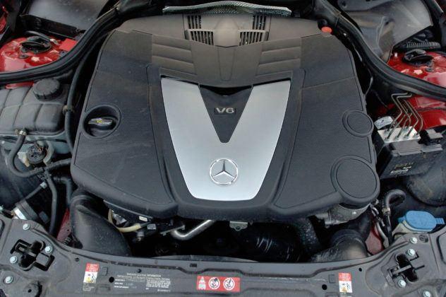 Mercedes CLK - silnik