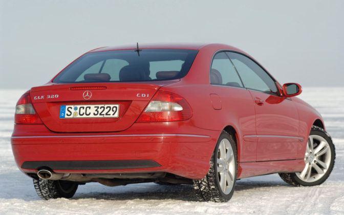 Mercedes CLK - tył