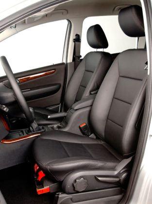 Mercedes Klasy A W169 - fotel kierowcy