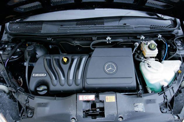 Mercedes Klasy A W169 - silnik