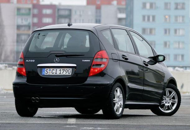 Mercedes Klasy A W169 - sylwetka