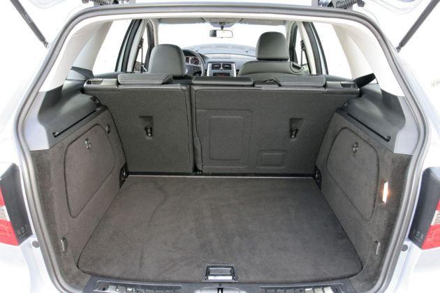 Mercedes Klasy B W245 - bagażnik