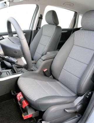 Mercedes Klasy B W245 - fotel kierowcy