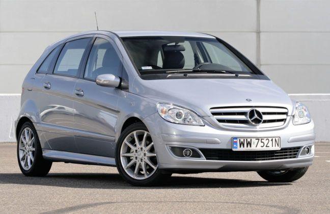 Mercedes Klasy B W245 - przód