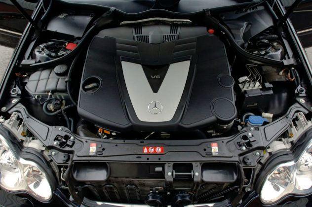 Mercedes Klasy C W203 - silnik