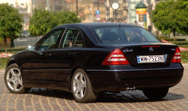 Mercedes Klasy C W203 - tył
