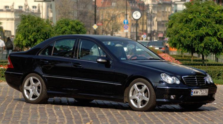 Mercedes Klasy C W203 - przód