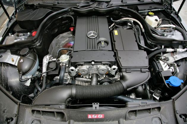 Mercedes Klasy C W204 - silnik