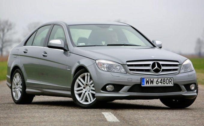Mercedes Klasy C W204 - przód