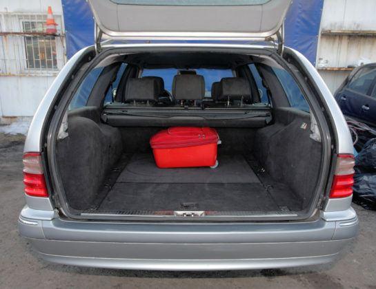 Mercedes Klasy E W210 - bagażnik