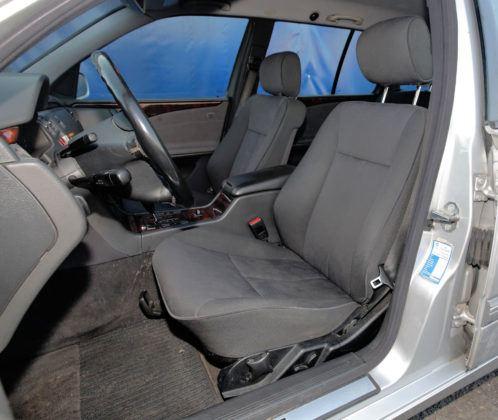 Mercedes Klasy E W210 - fotel kierowcy