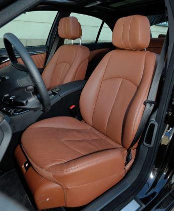 Mercedes Klasy E W211 - fotel kierowcy