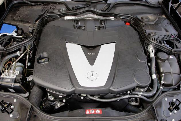 Mercedes Klasy E W211 - silnik