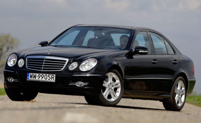Mercedes Klasy E W211 - przód