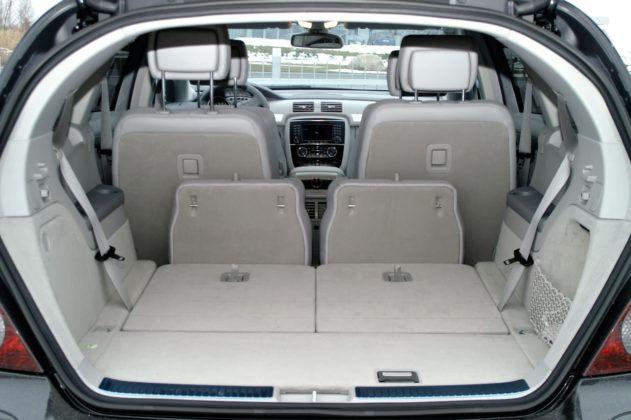 Mercedes Klasy R W251- bagażnik