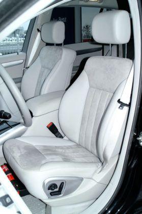 Mercedes Klasy R W251- fotel kierowcy