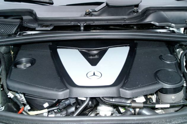 Mercedes Klasy R W251- silnik