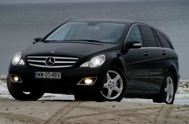 Mercedes Klasy R W251- przód