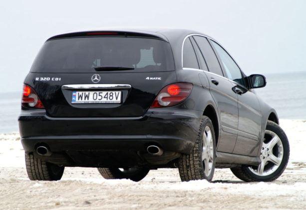 Mercedes Klasy R W251- tył