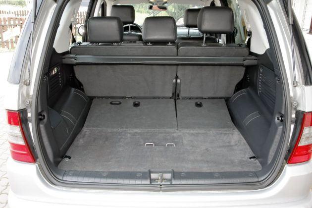 Mercedes ML W163 - bagażnik
