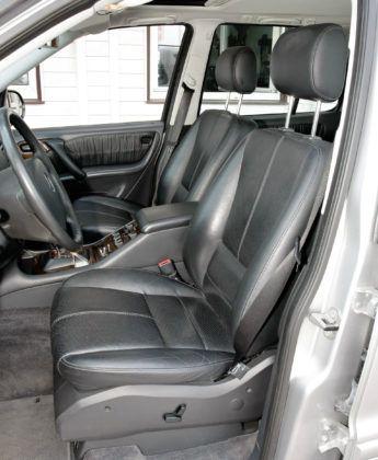 Mercedes ML W163 - fotel kierowcy