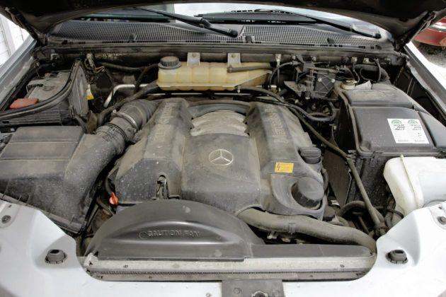 Mercedes ML W163 - silnik