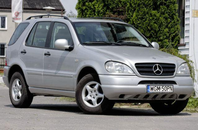 Mercedes ML W163 - sylwetka