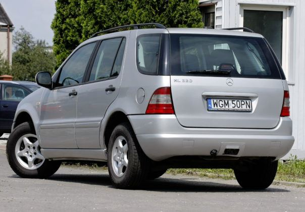 Mercedes ML W163 - sylwetka