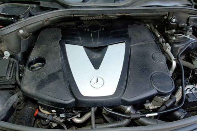 Mercedes ML W164 - silnik