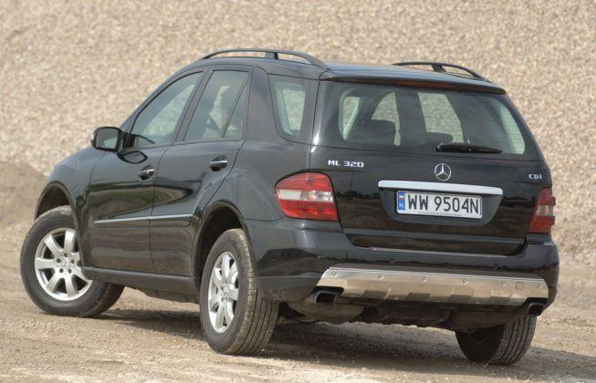 Mercedes ML W164 - tył