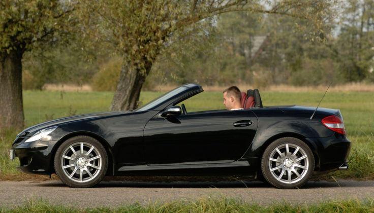 Mercedes SLK - bok