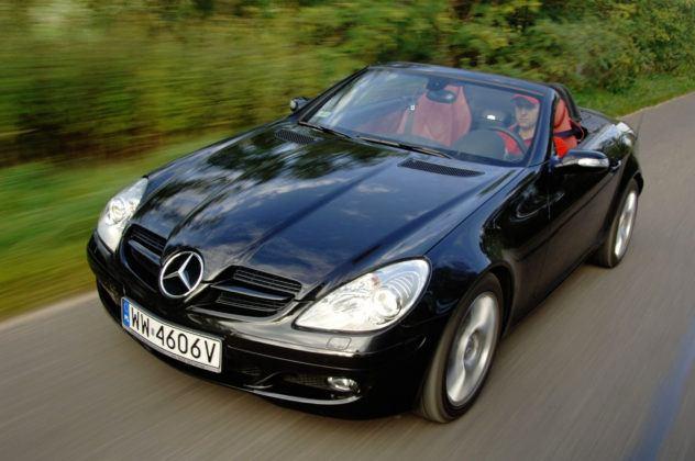 Mercedes SLK - przód