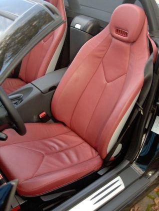 Mercedes SLK - fotel kierowcy