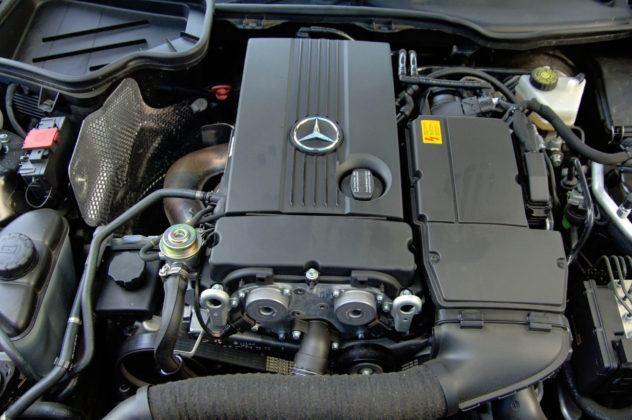 Mercedes SLK - silnik