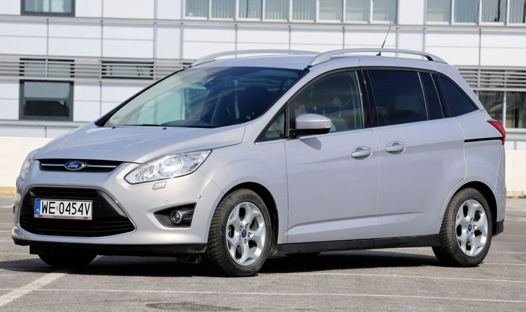 Minivany - miejsce 1 - Ford C-Max