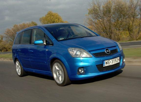 Używany Opel Zafira OPC